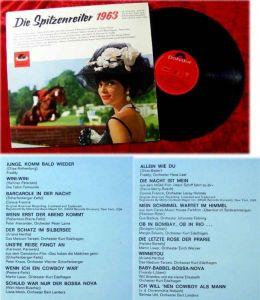 LP Spitzenreiter 1963 Polydor Peter Kraus Gus Backus Co