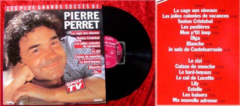 LP Pierre Perret: Les Plus Grands Succes de....