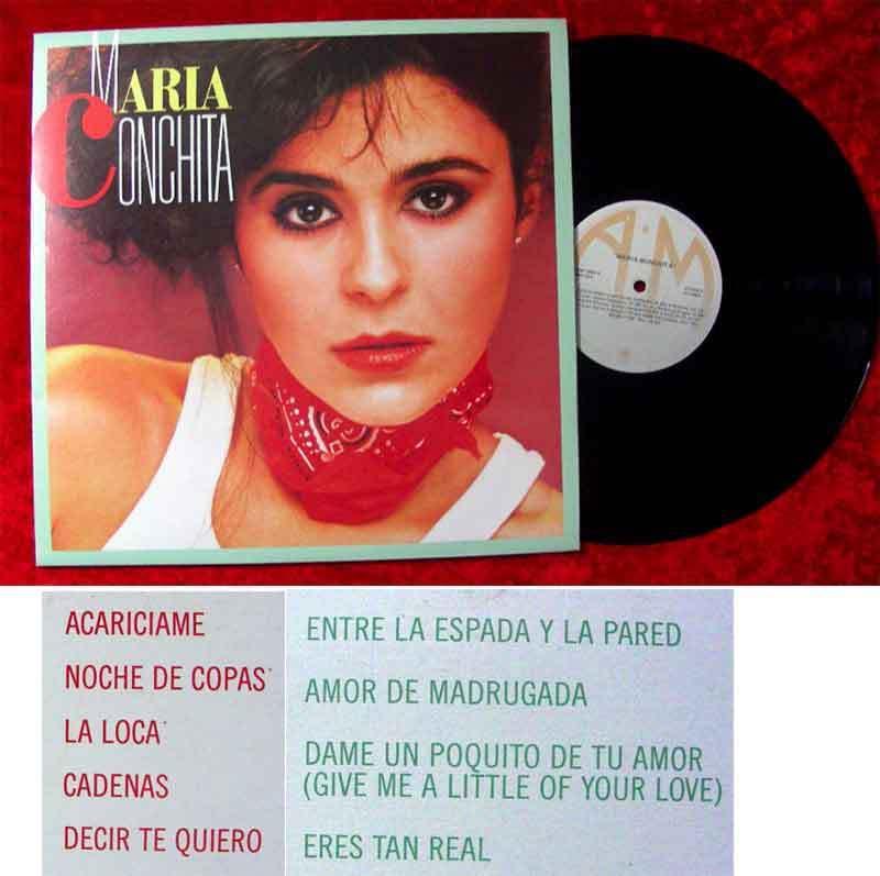 LP Maria Conchita (1984) Venezuela