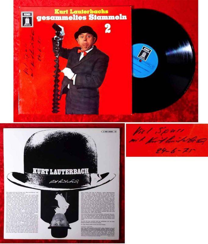 LP Kurt Lauterbach: Gesammeltes Stammeln 2 (Odeon 1C 062-28 856) Signiert