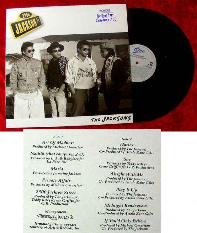 LP Jacksons 2300 Jacksaon Street 1989