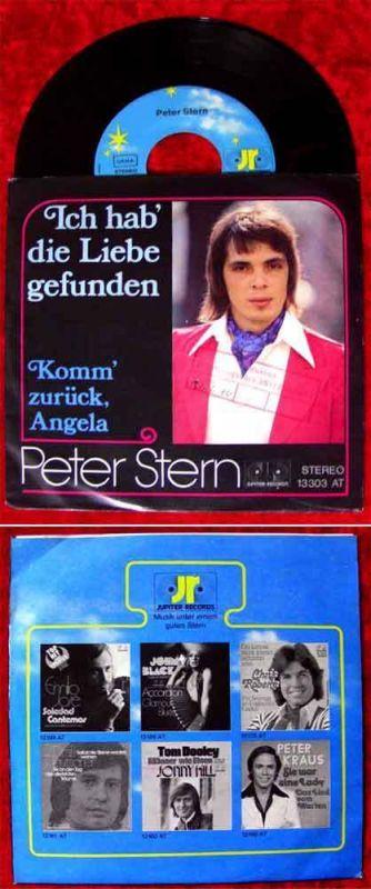 Single Peter Stern: Ich hab die Liebe gefunden (Jupiter 13 303)