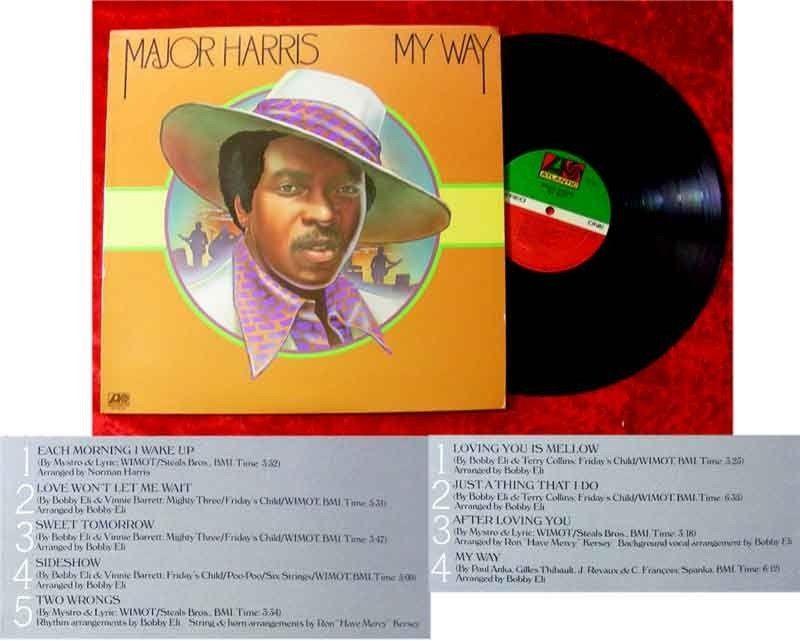 LP Major Harris My Way 1974