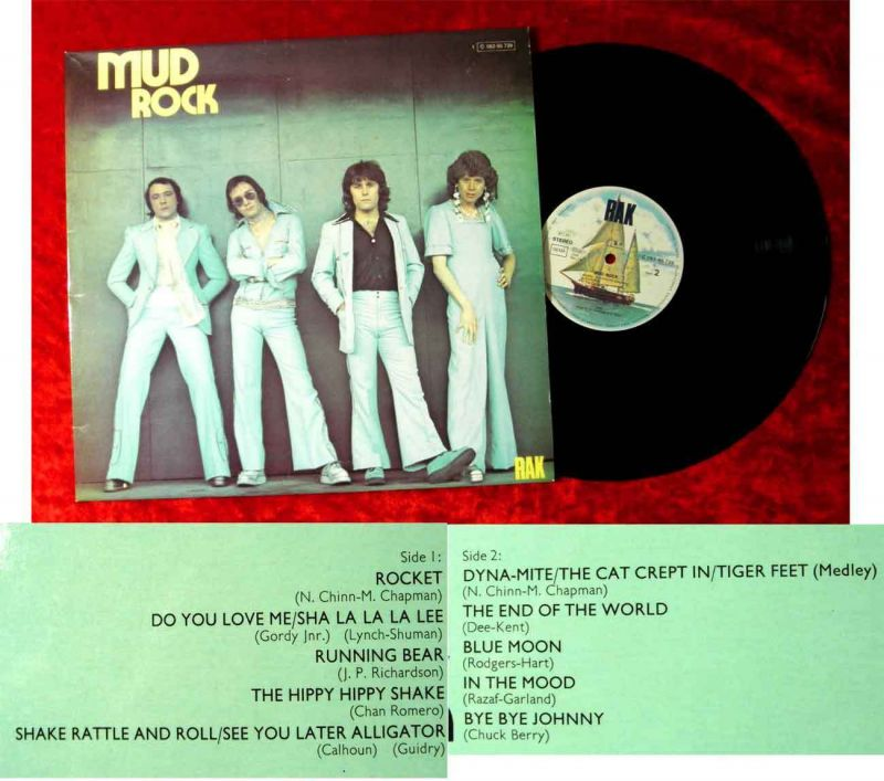 LP Mud: Rock (RAK 1C 062-95 739) D 1974