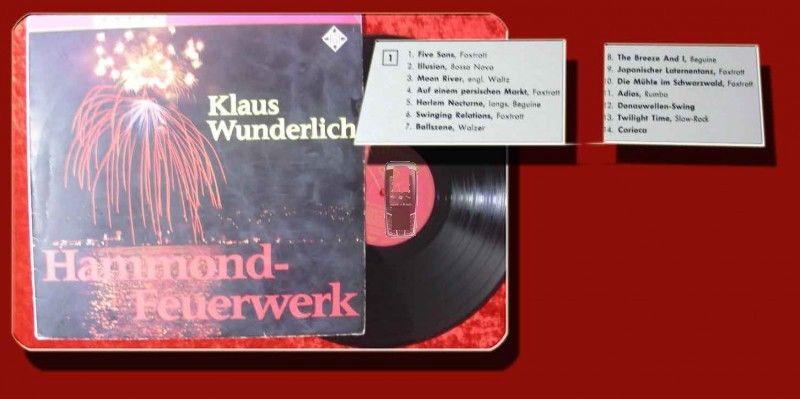 LP Klaus Wunderlich: Hammond Feuerwerk