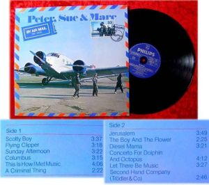 LP Peter Sue and Marc By Air Mail 1979