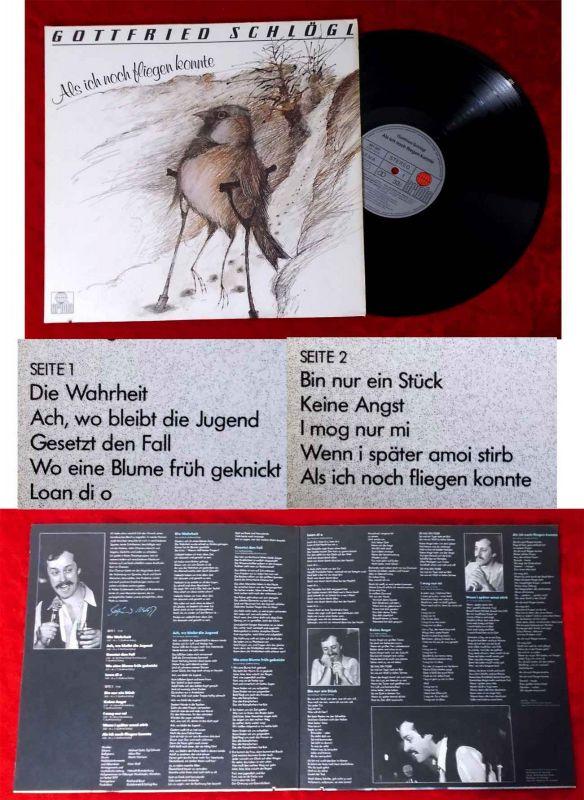LP Gottfried Schlögl: Als ich noch fliegen konnte (Ariola 201 207-365) D 1979