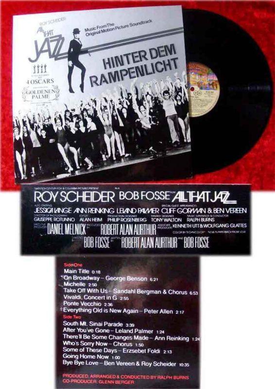 LP Hinter dem Rampenlicht - All that Jazz (1979)