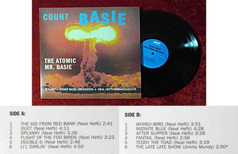 LP Count Basie: The Atomic Mr. Basie (Jazz Wax 4500) 180g