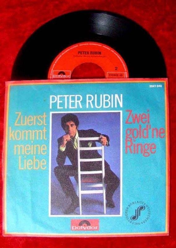 Single Peter Rubin Zuerst kommt meine Liebe Deutscher S