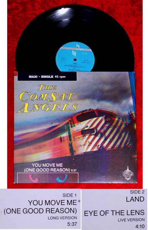 Maxi Comsat Angels: You Move Me (Jive 620334 AE) D 1984