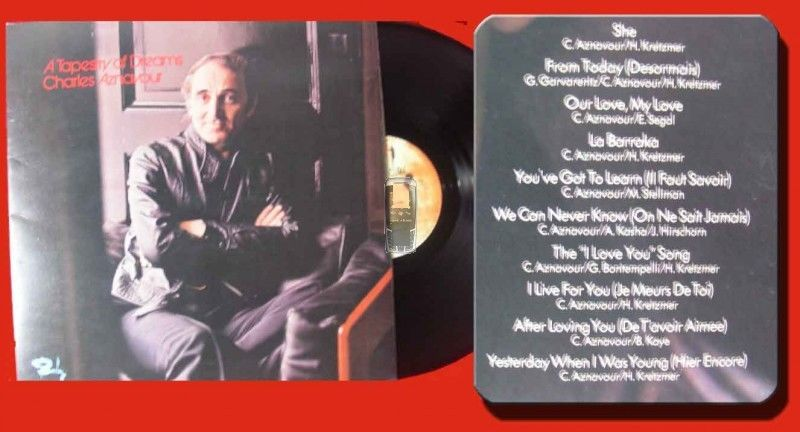 LP Charles Aznavour: A Tapestry Of Dreams