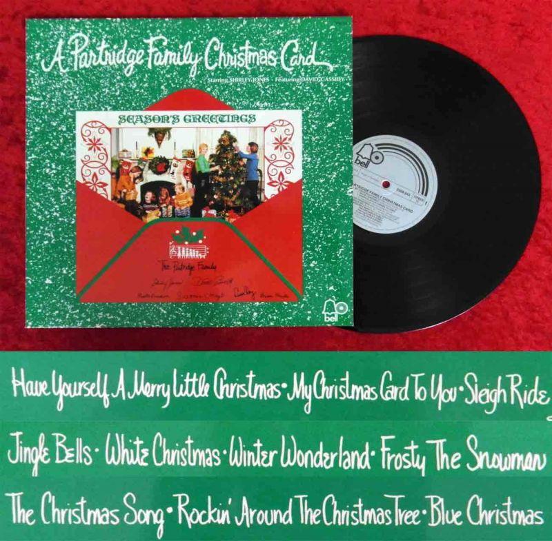 LP Partridge Family Christmas Card (Bell 2308 043) D 1971