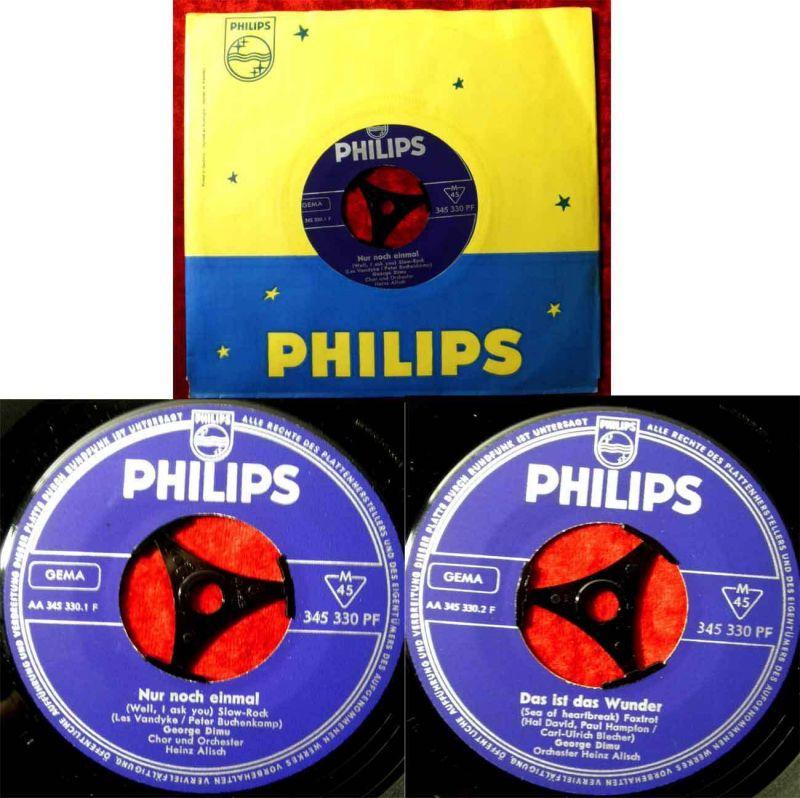 Single George Dimu: Nur noch einmal (Philips 346 330 PF) D