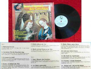 LP Tauet, Himmel, den Gerechten - Lieder zum Advent (Christophorus 73 889) D