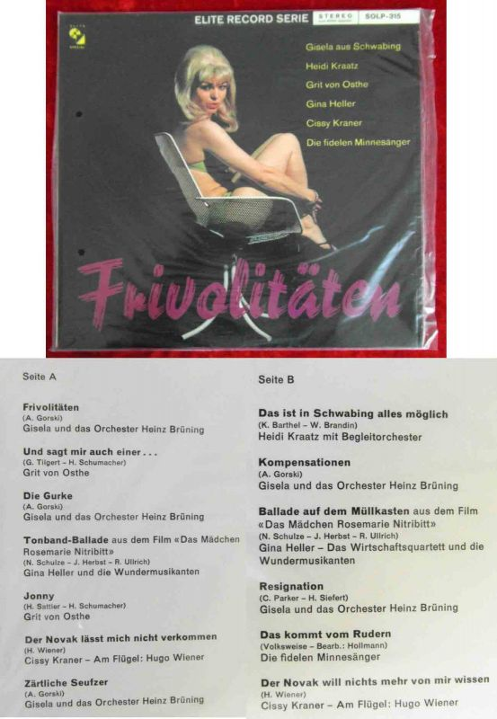 LP Frivolitäten (Elite Special SOLP-315) CH  OVP!!!
