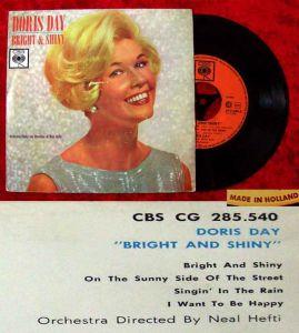 EP Doris Day: Bright & Shiny (CBS CG 285 540) NL