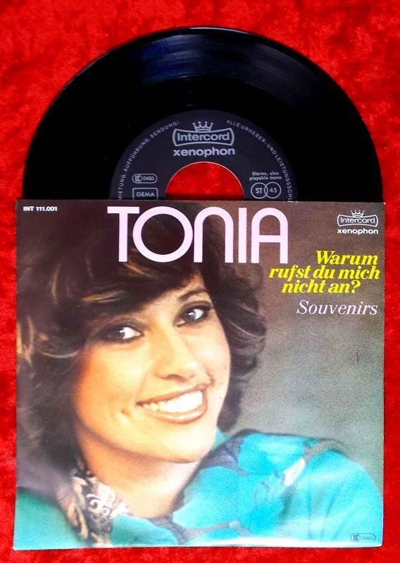 Single Tonia: Warum rufst Du mich nicht an (Intercord INT 111.001) D 1980