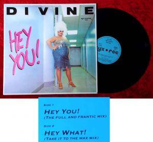 Maxi Divine: Hey You! (Zyx 5803) D 1988