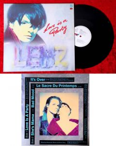Maxi 5 Track EP: Lenz: Love is a Party (Intercord 125.302) D 1991