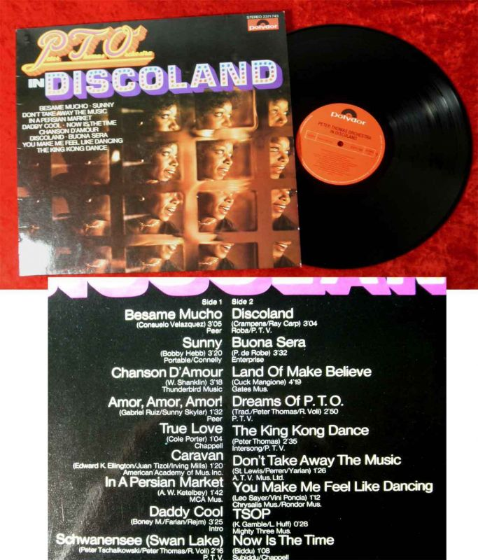 LP Peter Thomas Orchestra In Discoland (Polydor 2371 743) D 1977