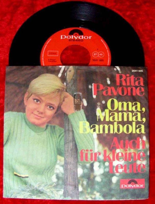 Single Rita Pavone: Oma Mama Bambola