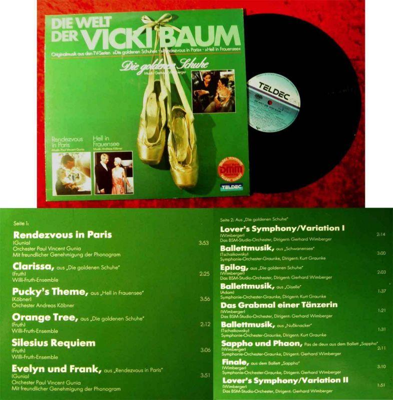 LP Die Welt der Vicki Baum - Die goldenen Schuhe - TV Serien (Teldec 625699 AP)