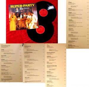 2LP Super Party mit Dieter Thomas Heck (Sonocord 28 554-4) D 1984