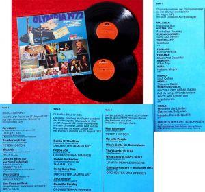 2LP Olympia 1972 (Polydor 2634 053) D 1972 Originalaufnahmen aus München & Kiel