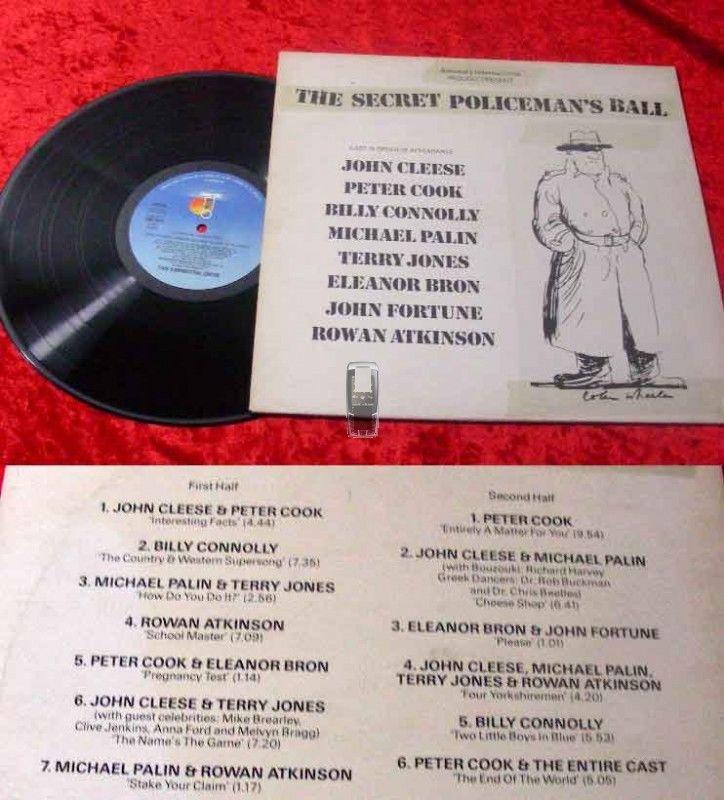LP Secret Policeman's Ball feat. John Cleese Peter Cook