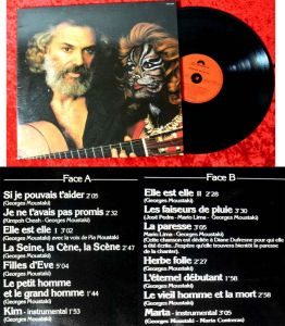 LP Georges Moustaki (Polydor 2473 097) F 1979