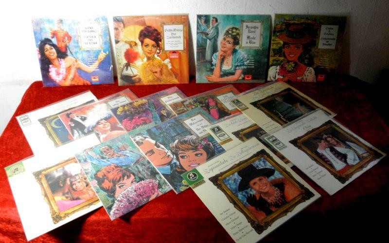 Vinylsammlung 15 LP Operetten Querschnitte teils rare Ausgaben Polydor & EMI