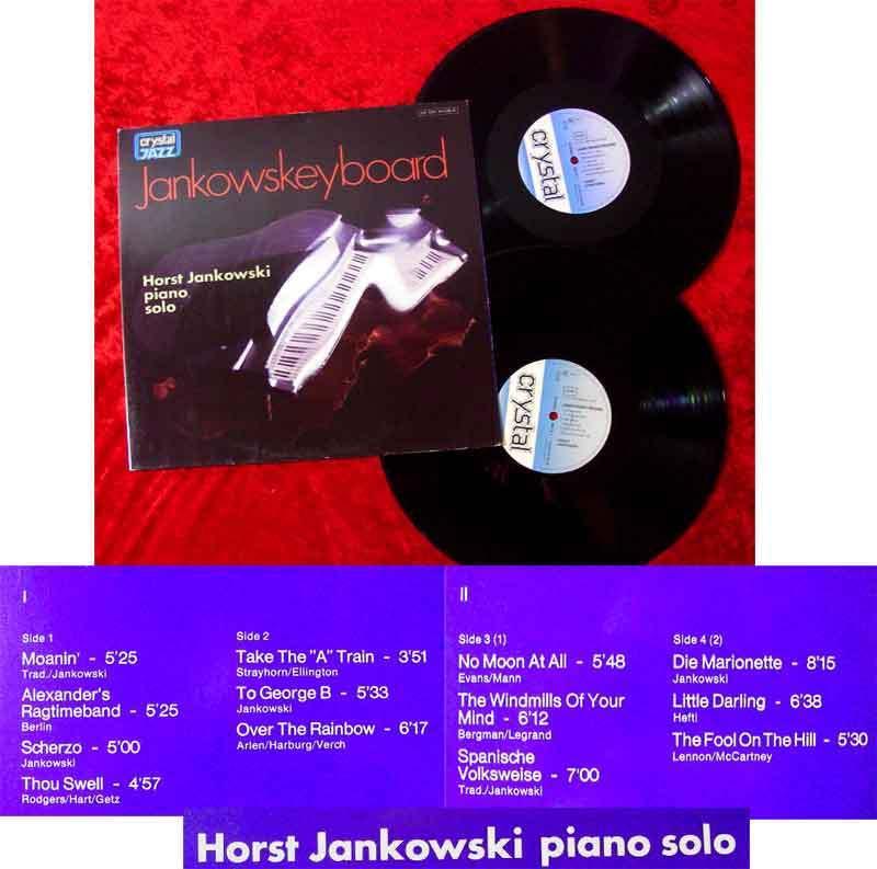 2LP Horst Jankowski: Jankowskeyboard (Crystal Jazz 134 63 546/47) D