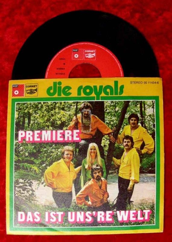 Single Royals: Premiere / Das ist uns're Welt