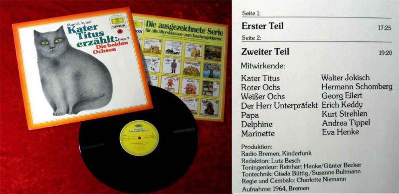 LP Kater Titus erzählt... Folge 2 Die beiden Ochsen - (DGG 2546 034) D 1979