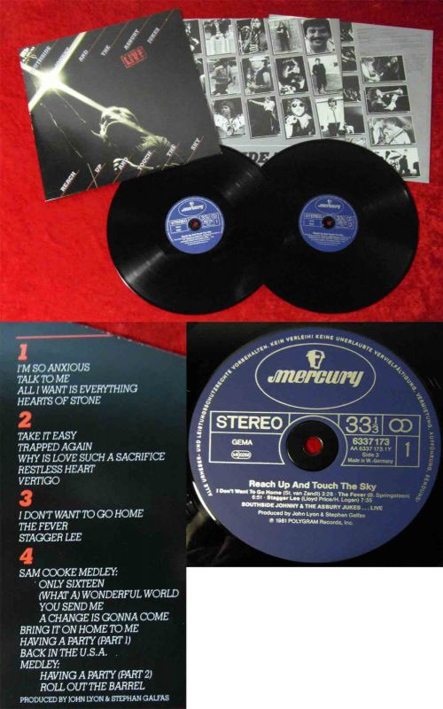 2LP Southside Johnny & Asbury Jukes: Live Reach Up and Touch the Sky (Mercury)
