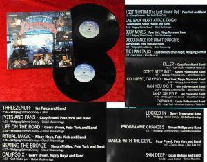 2LP Pete York presents Super Drumming (Global Direct Metal Mastering 303 088-320