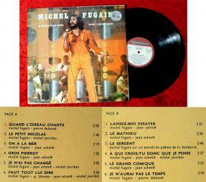 LP Michel Fugain (Musidisc 30 CV 1163) F