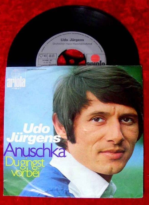 Single Udo Jürgens Anuschka