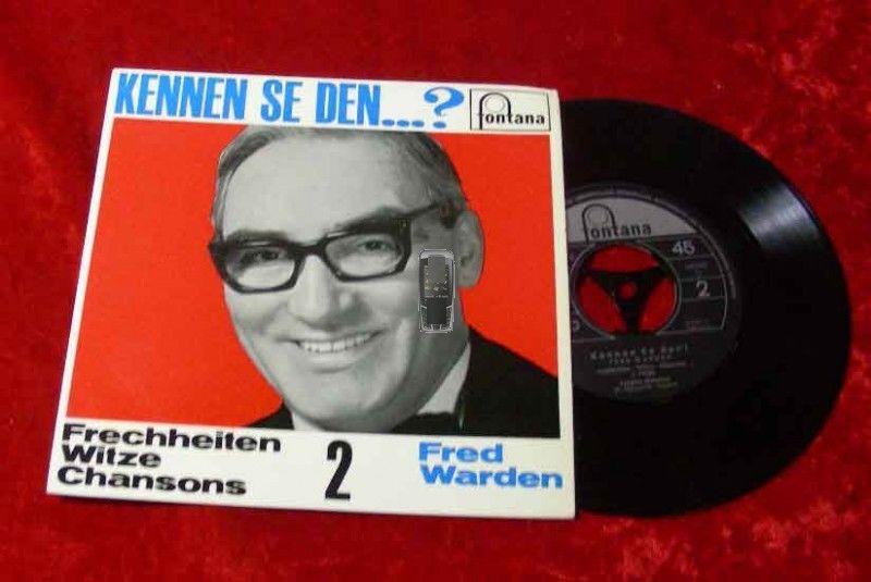 EP Fred Warden: Kennen se den...? (1965)