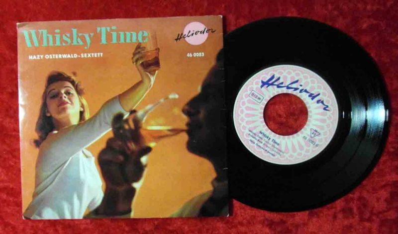 EP Hazy Osterwald Sextett: Whisky Time (Heliodor 46 0083) D 1959