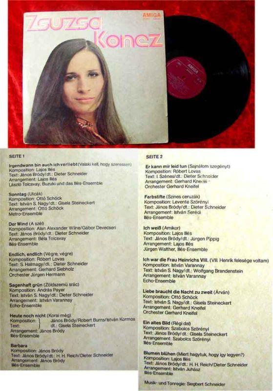 LP Zsuzsa Koncz (1972)