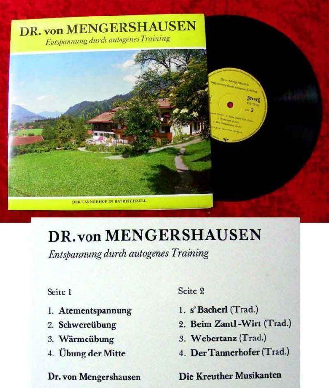 25cm LP Dr. von Mengershausen Entspannung durch autogenes Training