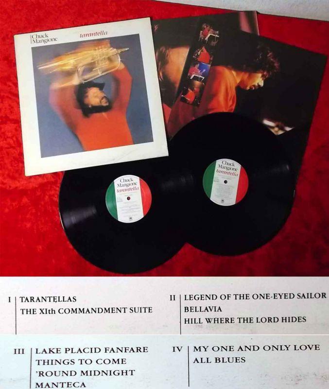 2LP Chuck Mangione: Tarantella (A&M 66513) NL 1981