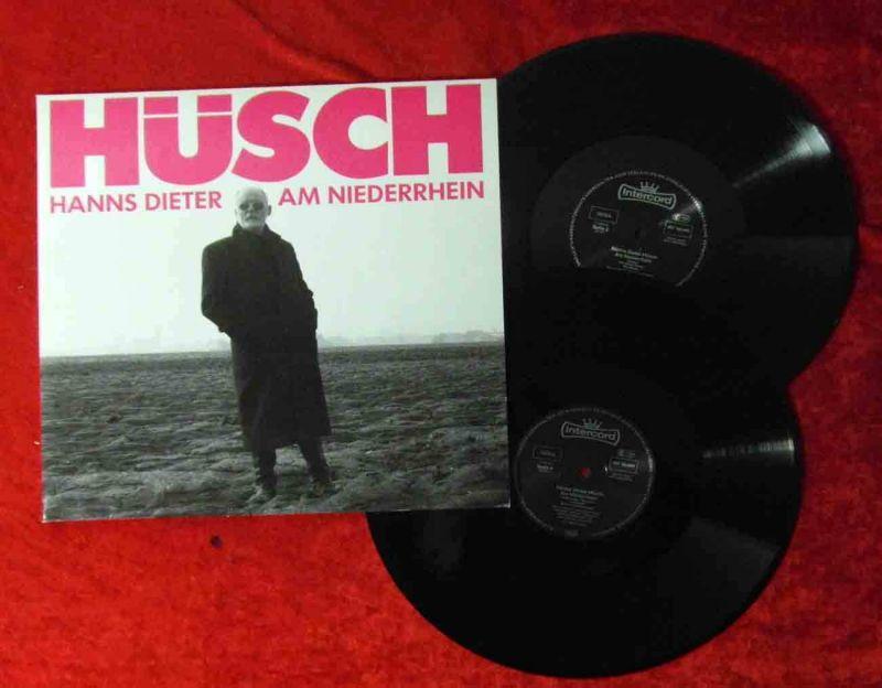 2LP Hanns Dieter Hüsch am Niederrhein (Intercord 180 069) D 1988