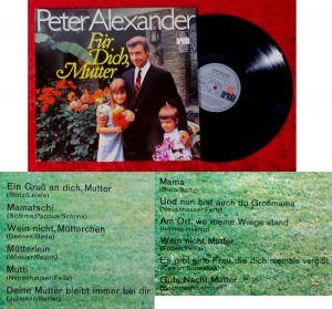 LP Peter Alexander: Für Dich, Mutter (Ariola 78 661 IU) D