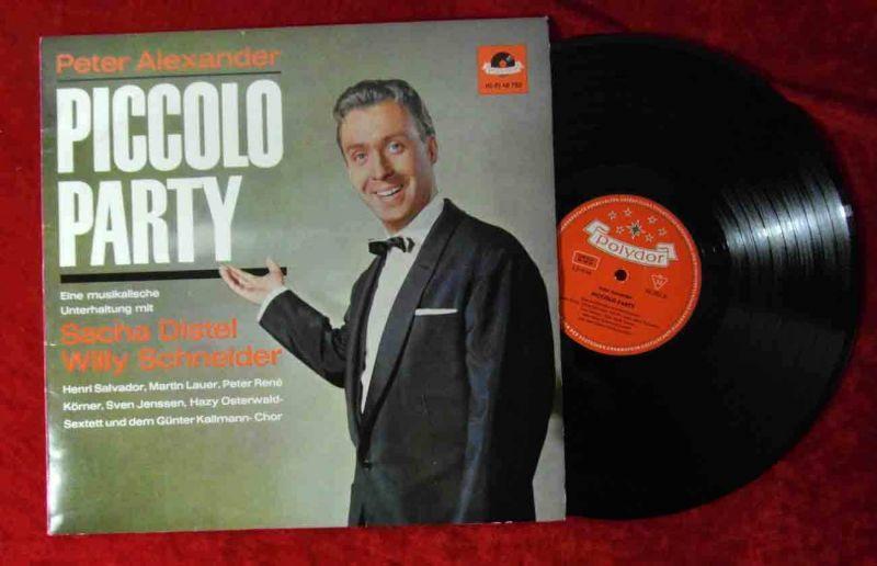 LP Peter Alexander: Piccolo Party (Polydor HiFi 46 782) D 1963