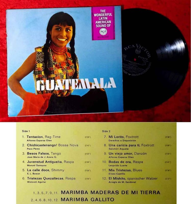 LP Guatemala - The Wonderful Latin American Sound of RCA (RCA LSP-10 084) D 1966