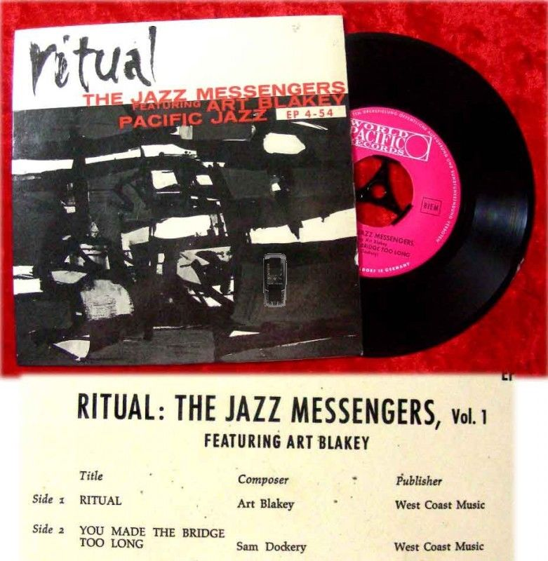 EP Art Blakey's Jazz Messengers: Ritual (Pacific Jazz)