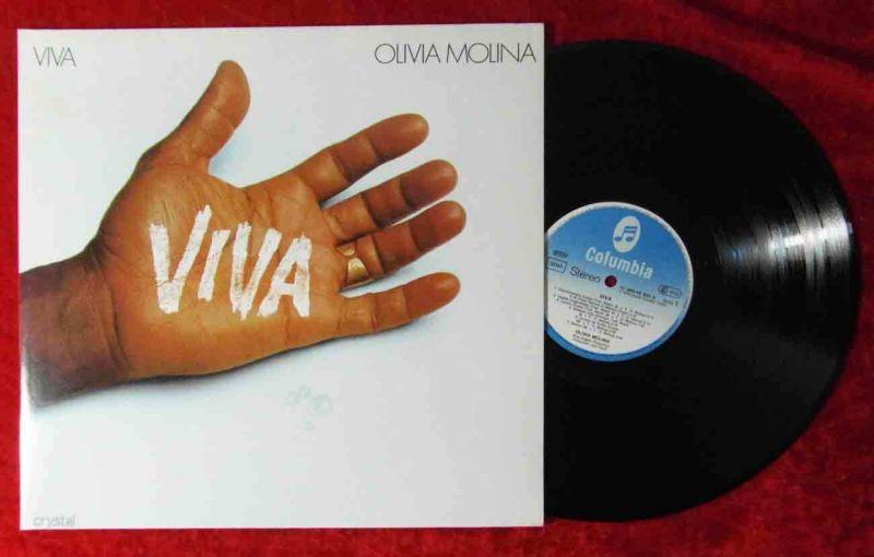 LP Olivia Molina: Viva (Columbia Crystal 066 CRY 45 889) D 1979